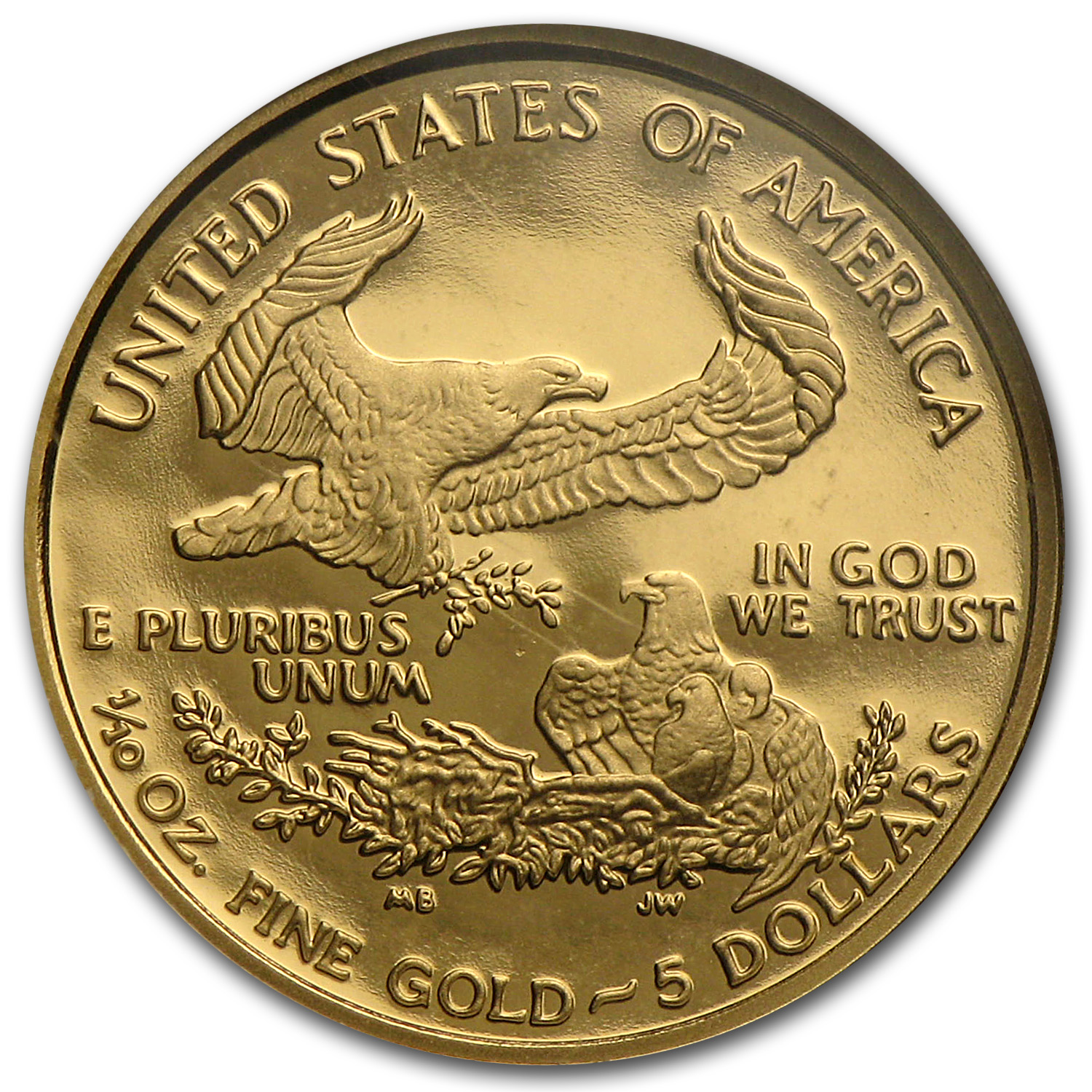 2001-W 1/10 oz Proof Gold American Eagle PF-70 NGC UCAM